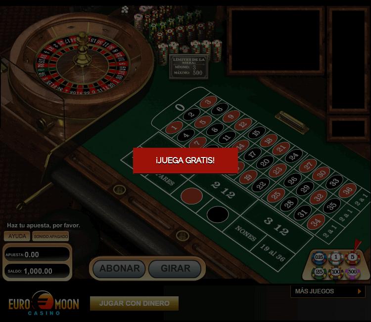Ruleta casino jugar gratis