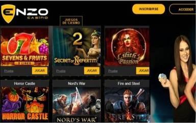 Giros gratis Enzo Casino hasta por 100 euros